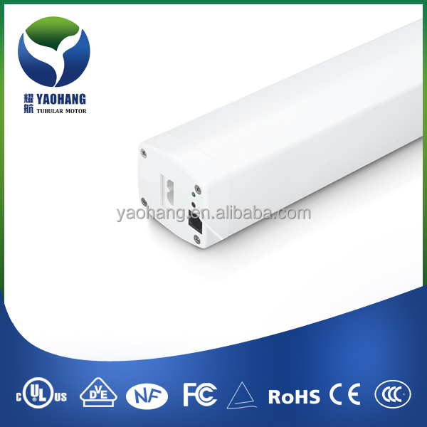 YT82LE-Lithium Battery Ac Tubular Motor for Electric Curtain Remote Control