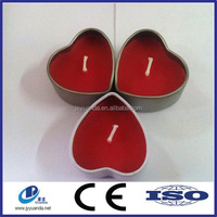 Heart shaped candle tin box/food cans/machine making tin can