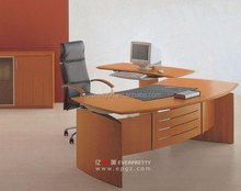 Office Furniture Steel Office Table Executive Desk with Filing Cabinet and Moving Cabinet