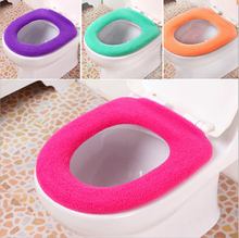 Special Design Comfortable Thick Warm O Type Soft Toilet Seat Cover