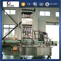 China hot sales Shanghai automatic fennel oil filling and cap screwing machine sunflower seed oil bottling equipment