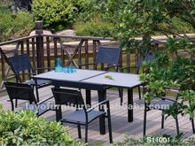 Spray Stone Table Top Alum extension table sets outdoor furniture
