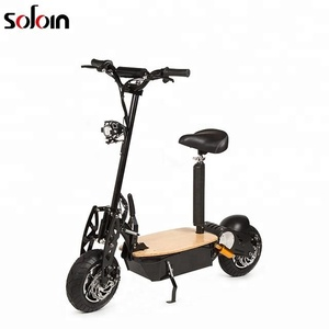 big power 1600w 2 wheel city mobility folding electric scooter