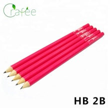 Promotional 2B Pencils Cheap Bulk Wooden Pencils With Eraser