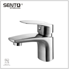 Bathroom equipments stainless steel basin luxury faucet wholesale