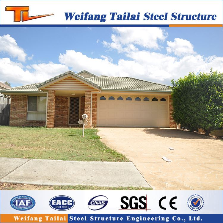 good design architectural economical light steel structure prefab villa