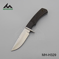 Color wood handle hunting knife