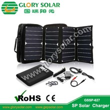 16000mAh Foldable Solar Panel Charger Bag For Tablet And Laptop With Battery