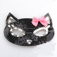 2016 party new Sequin mask animal head mask for anime mask cosplay