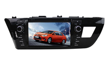 8inch 800*480 Touch Screen Car Radio GPS for Toyota Corolla 2014 Levin Car Stereo DVD GPS Navi