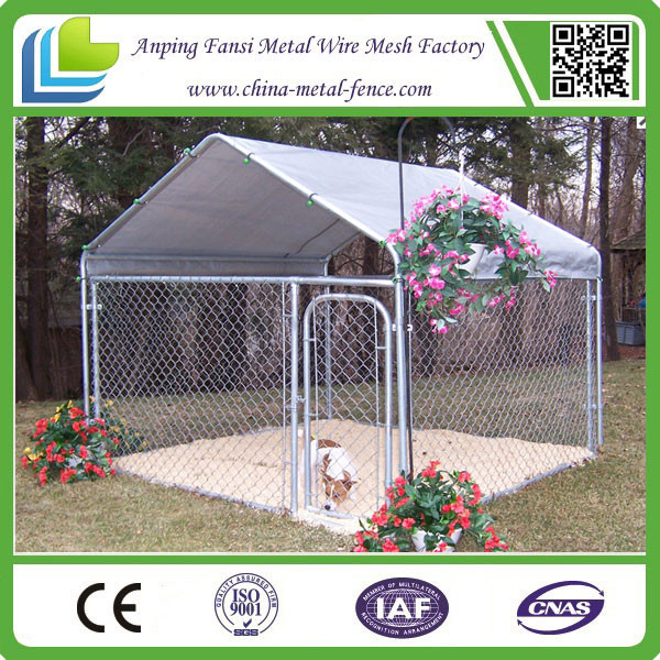 high quality hot sale cheap 10 x 10 chain link dog kennel for sale