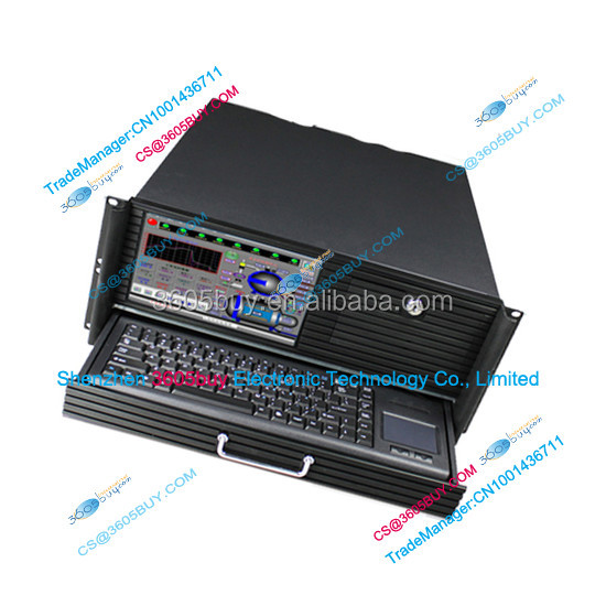 4U Industrial control server Integrated machine Chassis With 9 inch LCD screen With Keyboard ATX Osaka PC Power Supply
