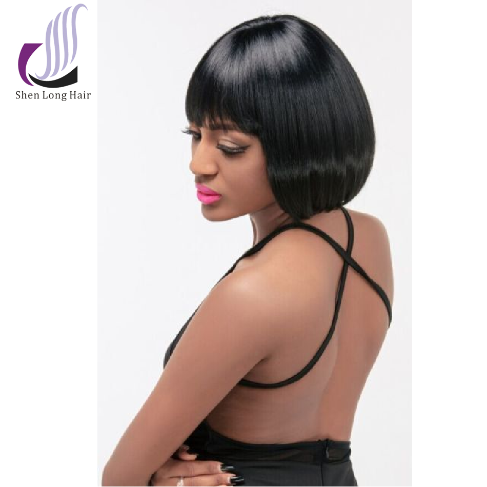 2015 New Fashion Trending Short Bob High Temperature Fiber Synthetic Wigs for Black Women