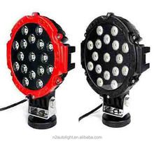 SEMA Member Auto Lighting Hot selling 63w led driving light 7 inch round 51w 63w offroad led work light