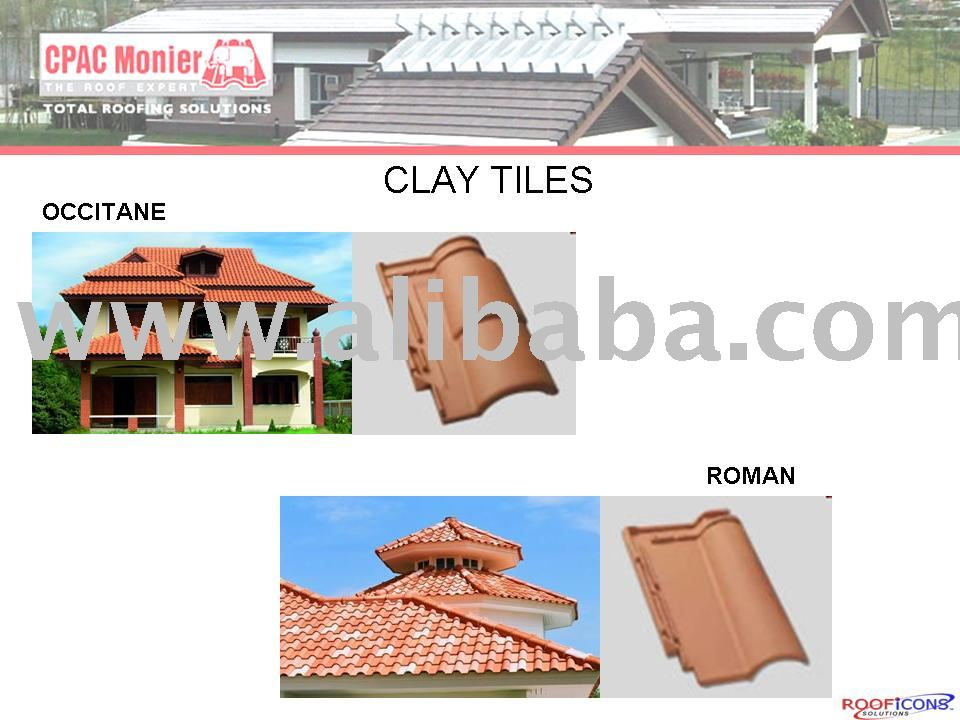 CPAC OCCITANE & ROMAN CLAY TILES