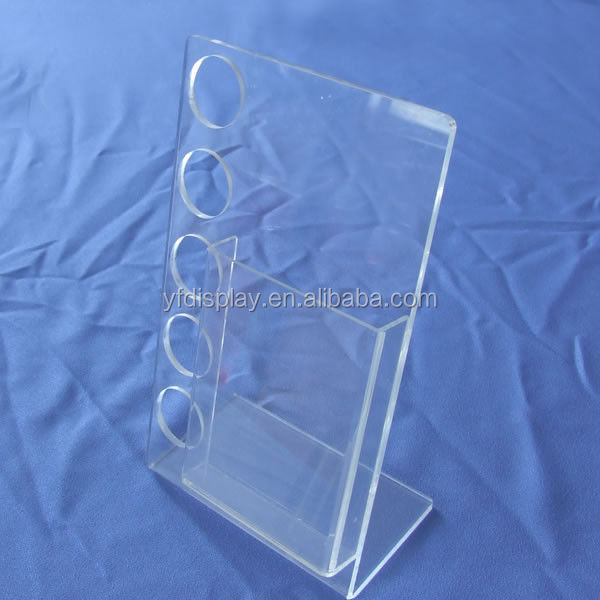 a4 clear acylic file folder document stand holder