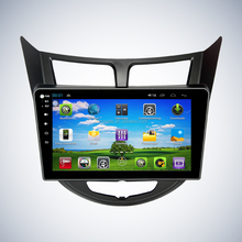 "10.1"" android car dvd player gps navigation wifi for Hyundai Verna"