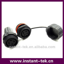 waterproof M22 4pin connector male and female (JKGLPCMF04)