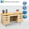 Popular office Tables Wooden Work Desk Stable Steel Desk