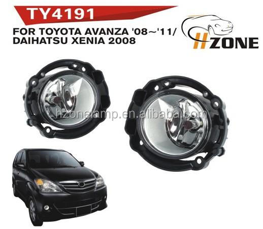 top quality sell 12v 5w fog lamp for TY AVANZA 2008-2011 with DOT SAE certification