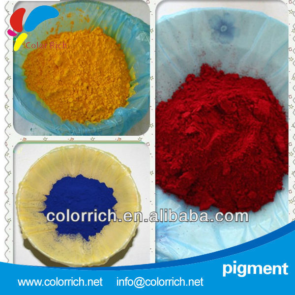 Pigment powder red 81 PE PA printing coloring material