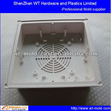 custom plastic parts manufacturing for ventilation fan