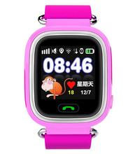 New Fancy Waterproof GPS Tracker SOS Cell Phone Android Kids Smart Watch for Child