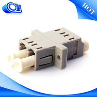 New design fashion low price sad lc mm duplex adapter , fiber Optic Adapter , fiber optic connector