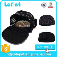Christmas sales comfort travel foldable portable soft small pet carrier