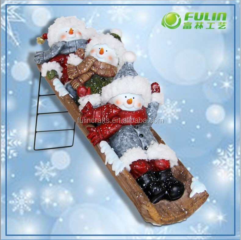 International Funny Christmas Handmade Snowman Crafts (NF3600102)