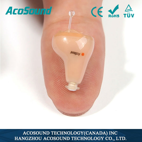 Advanced Quality Chinese Manufacture Well Price Best Sale AcoSound Acomate 210 Instant Fit Health Product for Elderly
