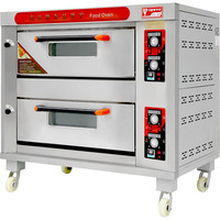 VIGEVR OEM new iron commercial bakery bread cake gas breakfast chapati oven