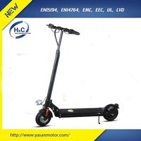 350W electric folding portable scooter with 36V 18.4Ah lithium battery