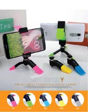 Factory wholesale cell phone Holder motorized tripod, projector screen tripod