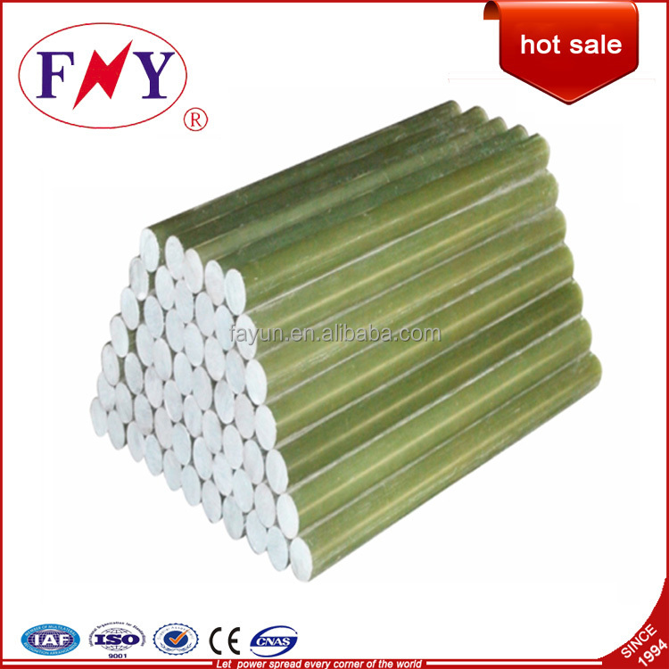 Solid Rubber Rod/Fiberglass rod for insulator