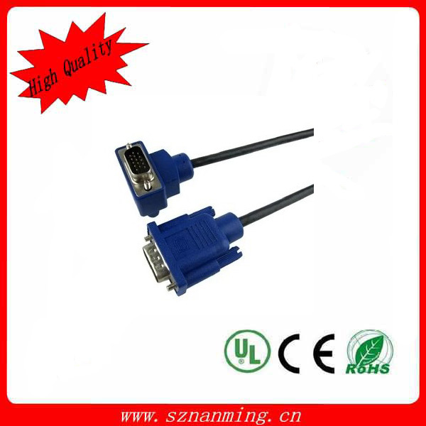 Fashion Custom length mini displayport to 15 pin vga cable