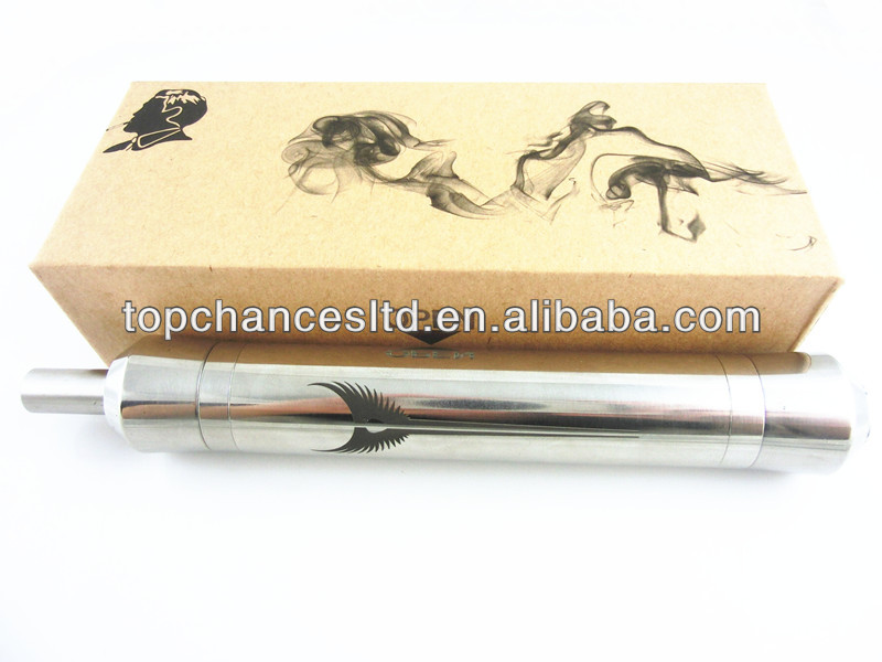 Top chances offer 2014 Newest wholesales Valkyire stainless steel mechanical mod in 3.0-6.0v stock offering