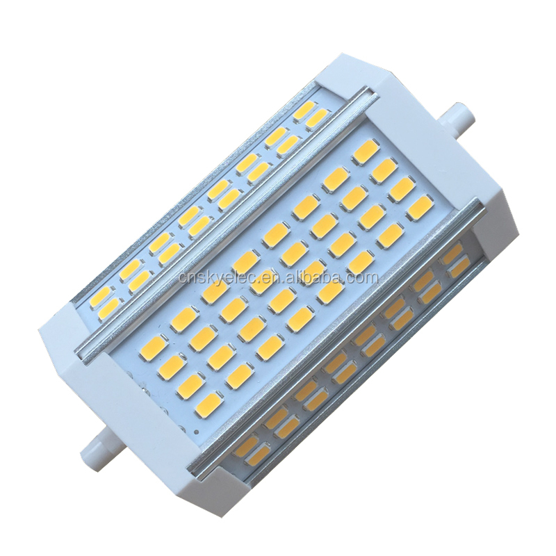 ultra bright led R7S 30W lamp <strong>J118</strong> 118mm length eco led <strong>light</strong> <strong>bulbs</strong> led R7S 64pcs 5630smd replace halogen 250W 3000lumen 85-265V