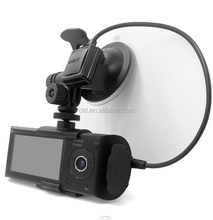 FHD 1080p double camera hd dvr driver recorder hd car dvr with ip camera