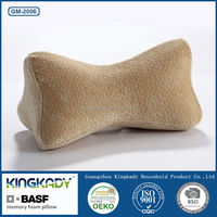 Portable Memory Foam Travel Massage Neck Car Pillow