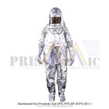Aluminized Fire Proximity Suit ( SPE-PPE-BP-AFPS-601-1 )