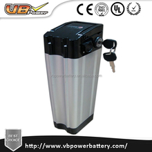 LiFepo4 Battery 10Ah 48V e bike battery pack Shallow shell with BMS and PCM