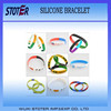 Country flags silicone bracelet