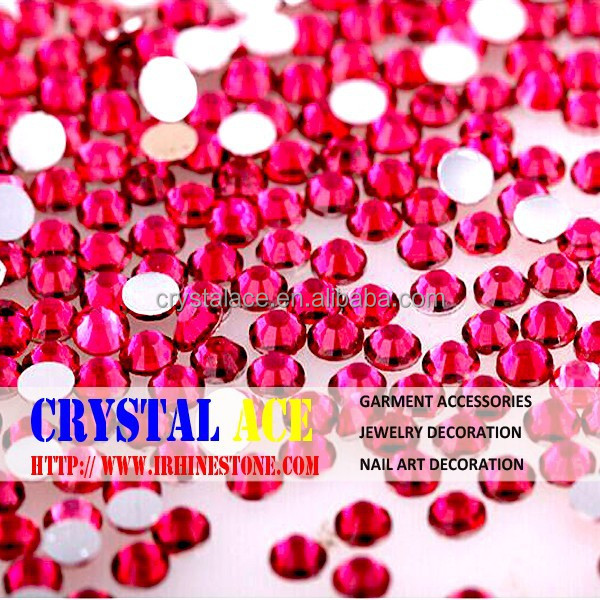 Flat back resin non hotfix rhinestones for Indian and Pakistani market