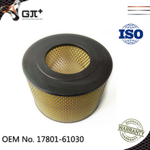 Japan Vehicle Parts Engine Air Filter for Cars 17801-61030