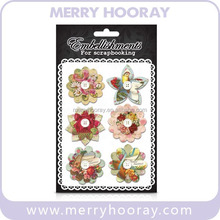 Scrapbook cheap Paper Flower/ notebook design