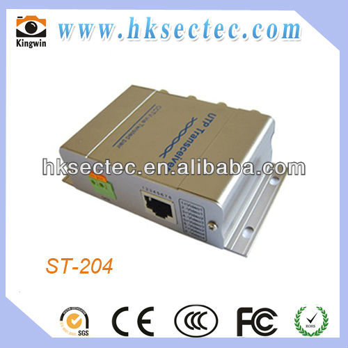 4 Channel Passive Video Transceiver Hub