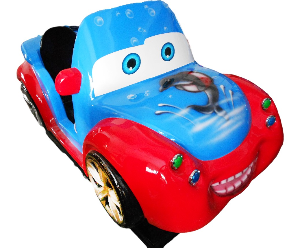 Hot sale different type Carton indoor equipment electric car for kid