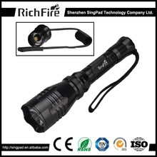 with a car charger led hunting flashlight,green led flexible hunting flashlight mount,8000 lumens hunting flashlight