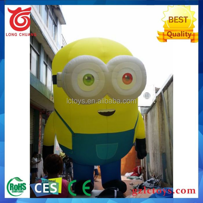 Custom inflatable cartoon characters giant inflatable despicable me Minions
